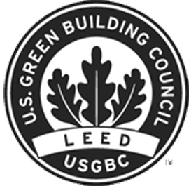green building and leed credit logo