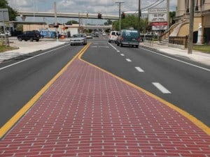 TrafficPatterns® and TrafficScape™ Solutions for Decorative Asphalt Crosswalks & Traffic Calming Surfaces 3