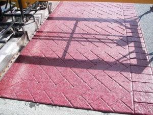 TrafficPatternsLT™Durable Skid and Slip Resistant Covering for Stamped Asphalt 3